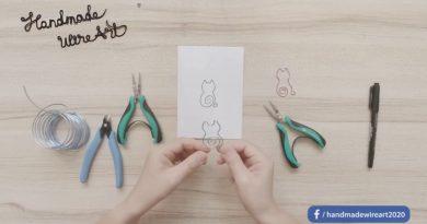【停課不停學】親子DIY創作 手作可愛貓咪鋁線書籤