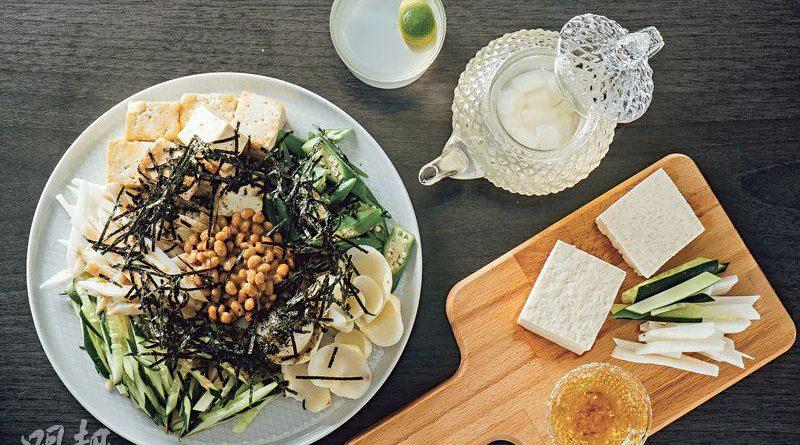 【抗疫料理】淮山百合沙律 薏米蓮子茶 自煮「白色」料理 補正氣抗疫