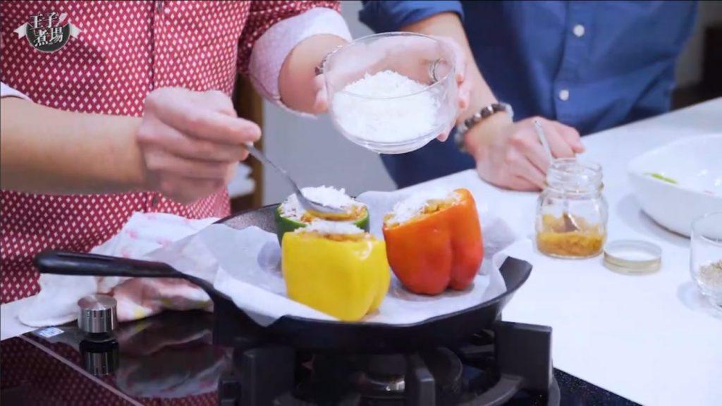 【營養師食譜】家常菜療癒身心 營養師增強抵抗力有法!-釀焗燈籠椒