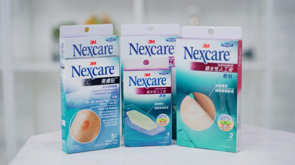 暗瘡傷口用Nexcare™敷貼「濕潤療創」減低疤痕形成機會