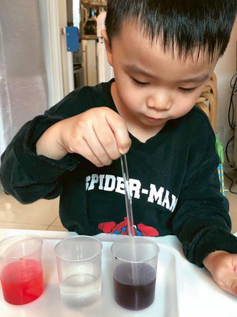 [停課不停學] 蔬菜染色小實驗 提升專注力