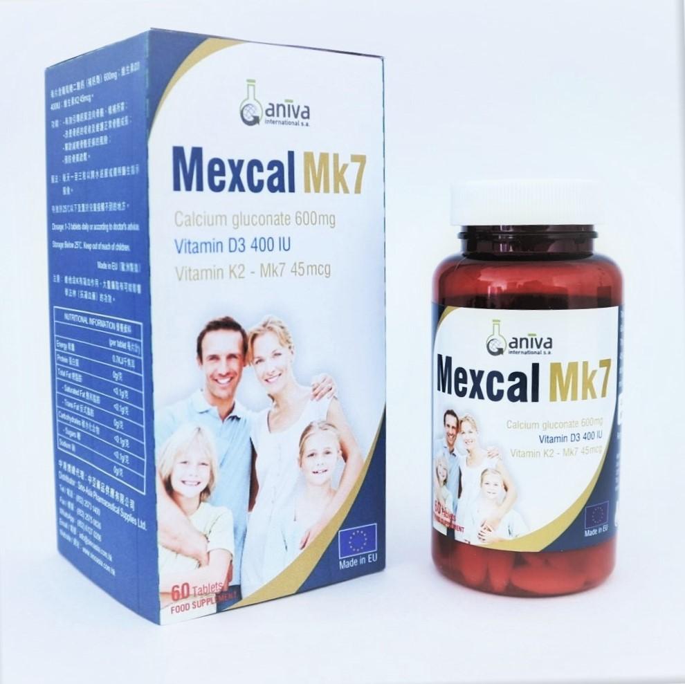 【讀者精選】Mexcal Mk7 鈣片-Power Up