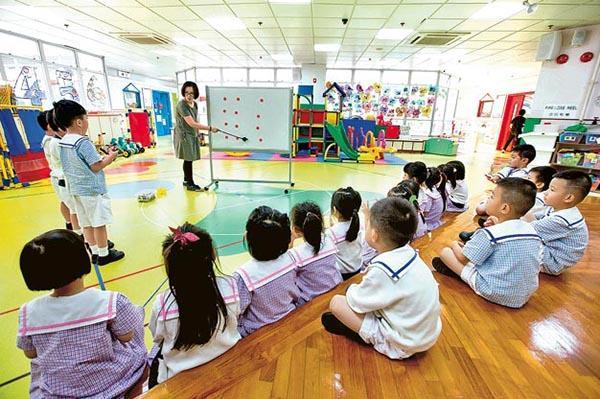 重返校園:最高級別防疫  調適課程內容  K3復課 銜接小學大作戰