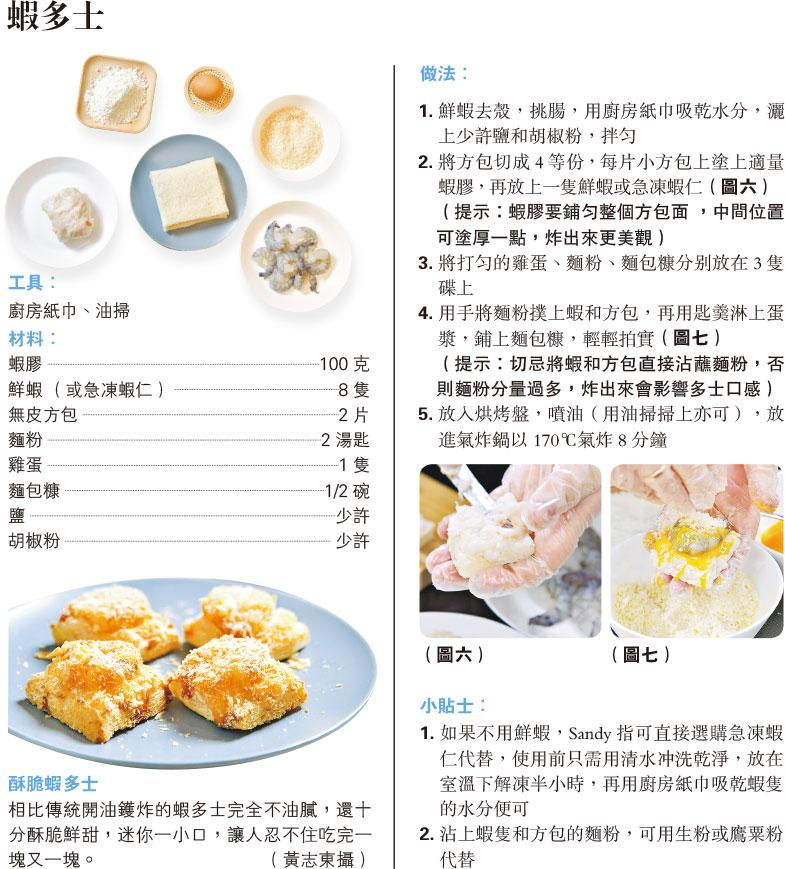 廚房神器炮製美食 氣炸豬手米通 脆香不膩