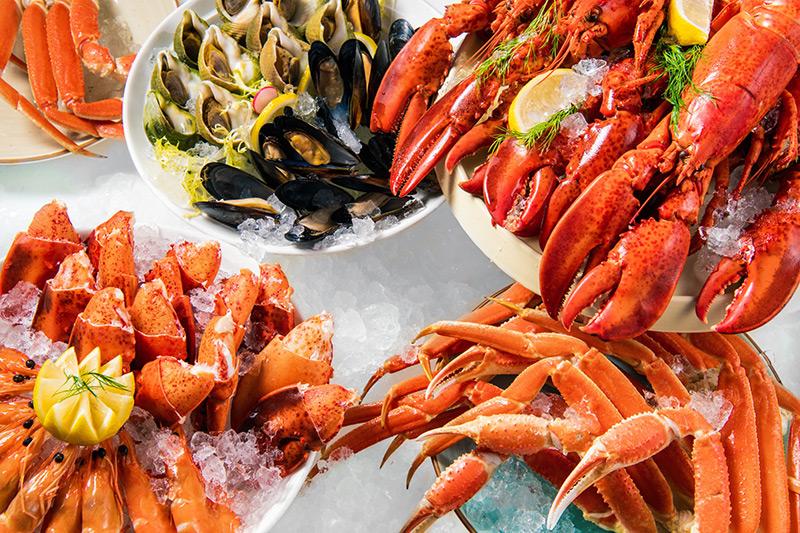 皇家太平洋酒店柏景餐廳「吃喝無限點」 盡享輕鬆愉悅海鮮及環球美饌體驗
