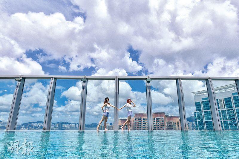 留港度假 高空泳池歎世界