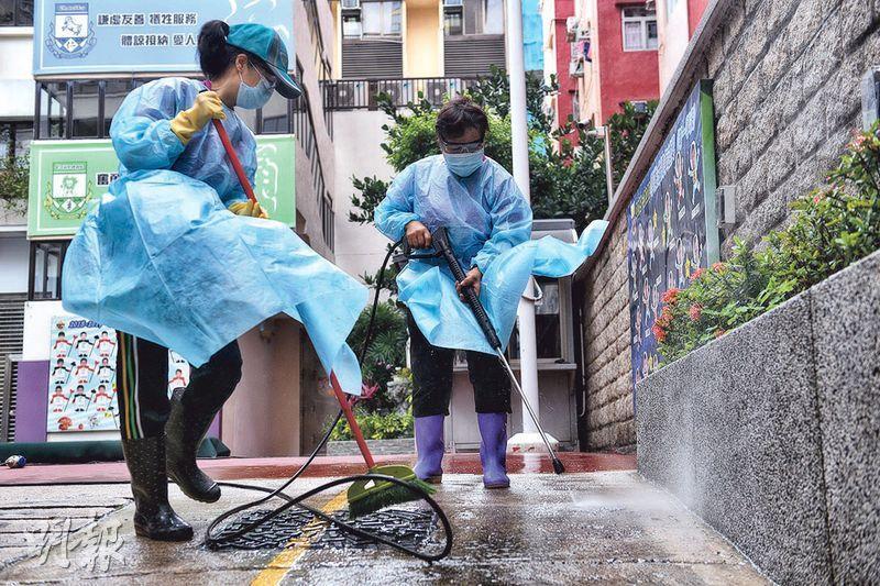 【復課準備】小學拍「防疫劇場」 教戴罩棄罩