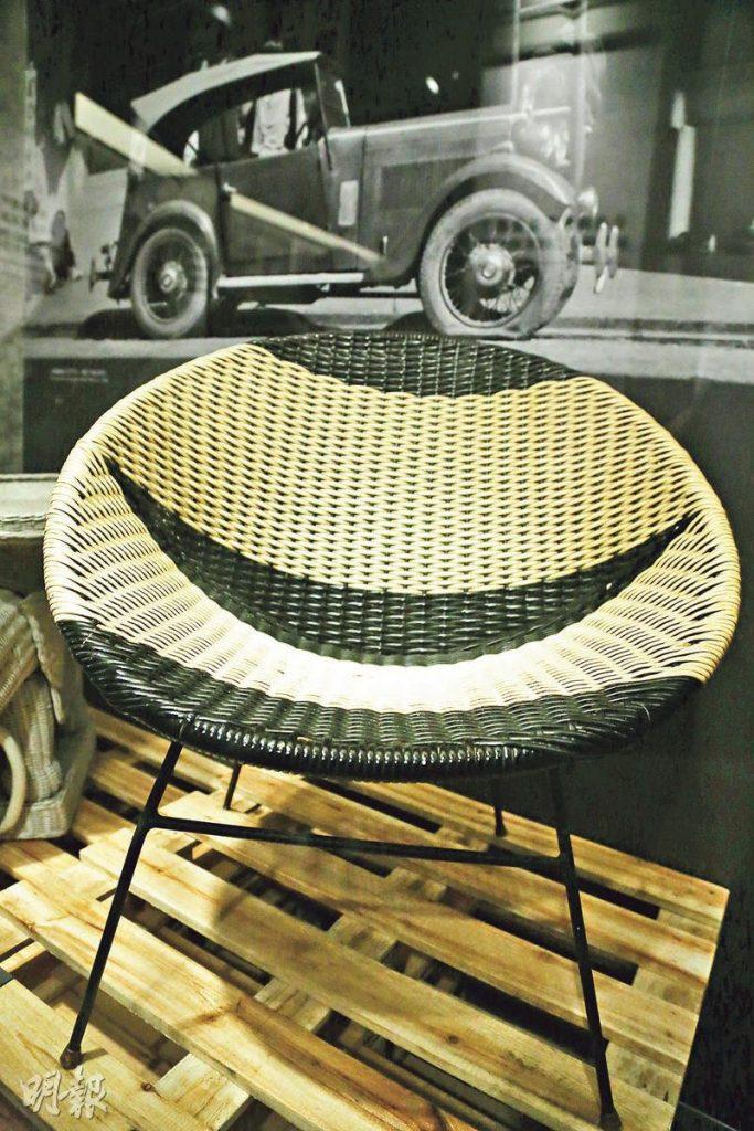 【Emily】「工」不可沒傳奇展 飛碟藤椅印證港創意