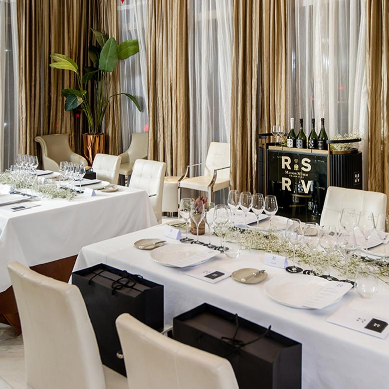 【會員限定】Maison Mumm RSRV香檳 乘聯米芝蓮級精品餐廳
