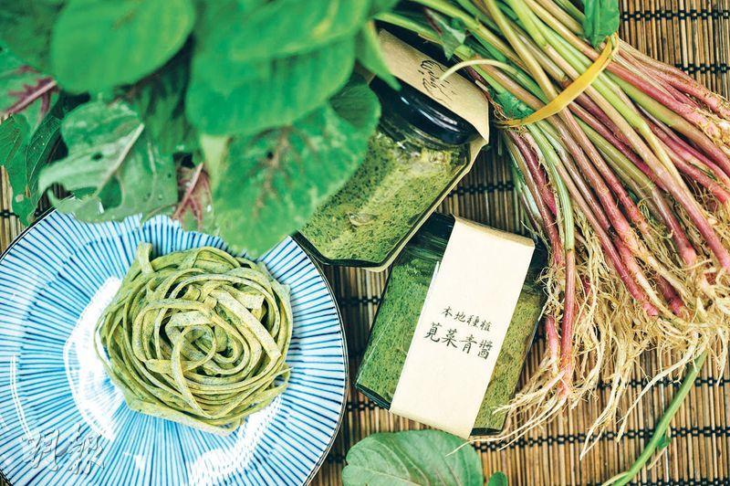 【本地農作】莧菜7月之嫩 變身良醬好麵