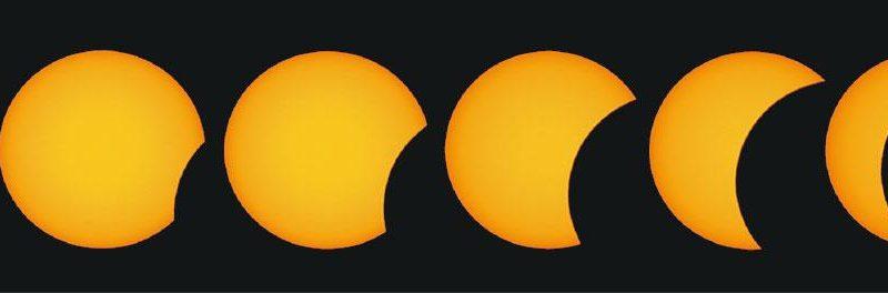 【天文現象】瞄準西邊 帶備濾光片 6.21迎65年最大日偏食