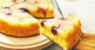 另一個胃:翻轉焦糖菠蘿蛋糕 酸甜開胃 盛夏甜品