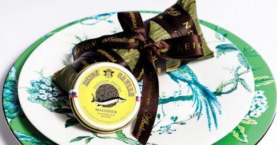 尚鮑老三陽再度合作 發售極品上海糉配魚子醬套裝