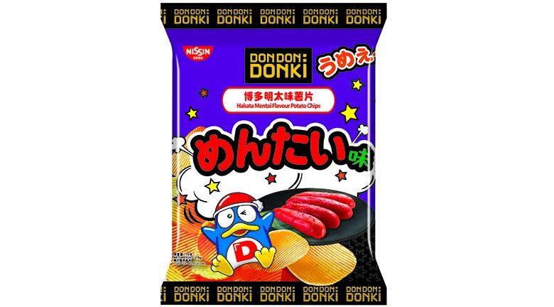 唐吉訶德日清合推日式口味薯片
