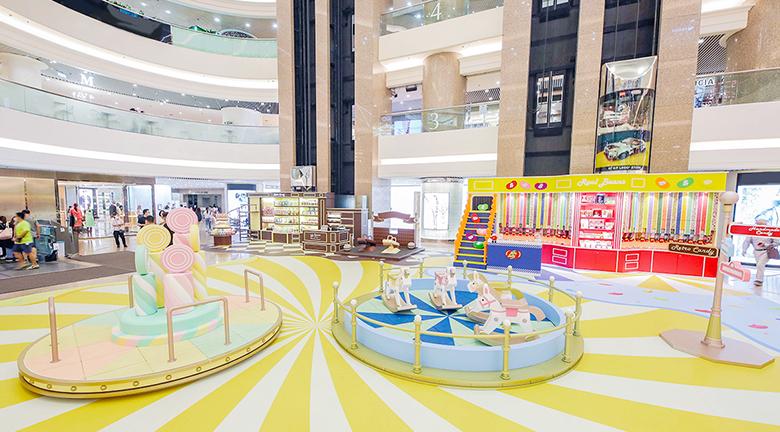 時代廣場變身糖果樂園 期間限定店售賣多款糖果