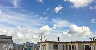 【炎熱天氣】常現藍天白雲 多得高壓脊強勢