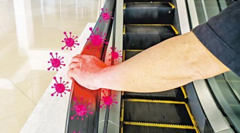 【扶手梯安全】無間斷UVC消毒 無後顧之憂? 扶手梯上走動亂摸易中招