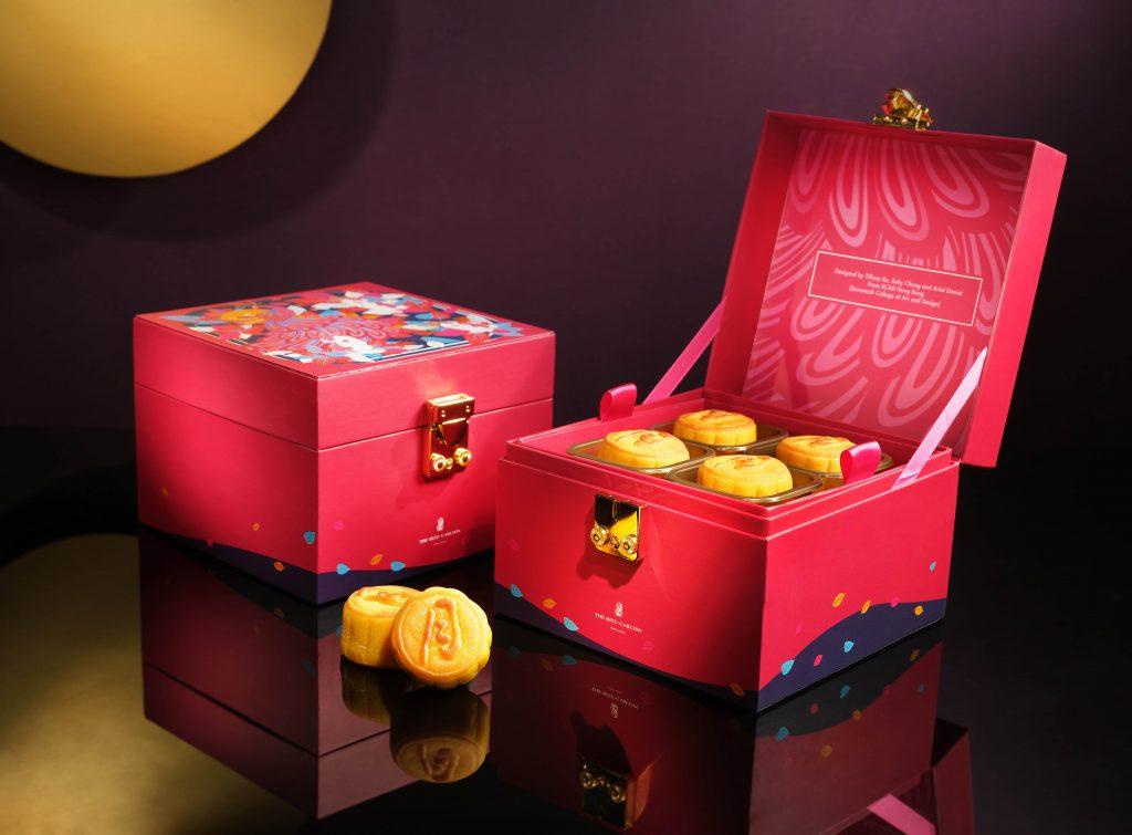 【又中秋】香港麗思卡爾頓酒店呈獻:全新奶黃月餅、天龍軒限量月餅熟茶禮盒及特選足料禮物籃 度過優雅中秋佳節