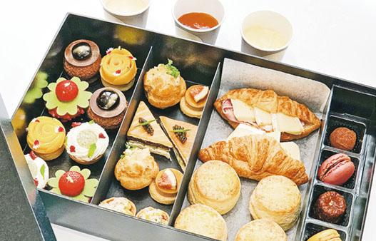 抗疫下午茶:巨型「禮物盒」4款甜品5款鹹點 留家分享