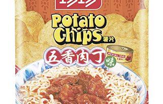 珍珍五香肉丁味薯片 7-Eleven獨家發售