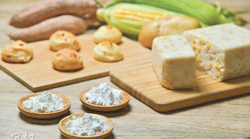粟粉,木薯粉,馬鈴薯粉
