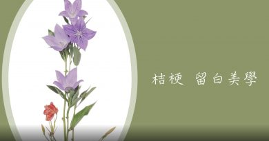 【Karen 珠寶飾説話】花藝教室-5分鐘學懂 日本花道精神:桔梗 留白美學