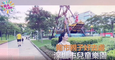 【遊走大灣區】深圳市兒童樂園 5蚊玩衝浪、海盜船等機動遊戲