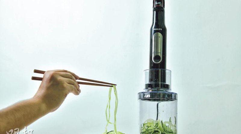 蔬菜變麵 攪拌機新搞作