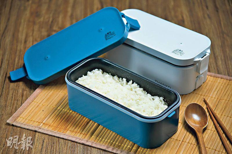 e新品:日系自熱飯盒 14分鐘熱辣辣開飯