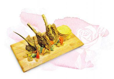 料理分子:玫瑰燴羊架 香噴噴異國香料