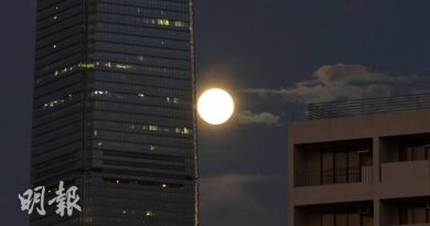 萬聖夜賞藍月 同月現第二滿月 下次出現要等到2023年