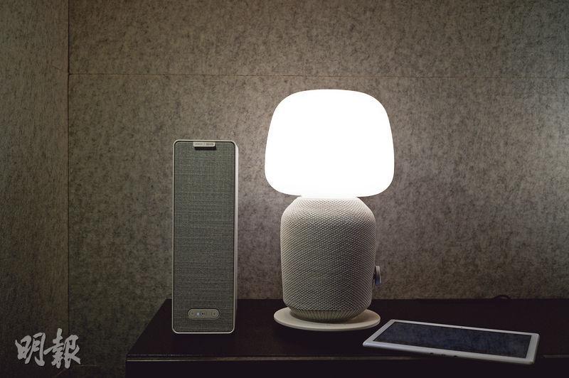 北歐設計×美國音響 枱燈書架播放好聲音