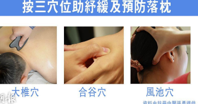 入秋轉涼易「瞓厲頸」 中醫提醒保暖頸部防落枕 熱敷按穴位助紓緩