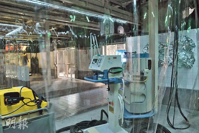 檔口變手術室 「生化人」待喚醒 深水埗街市「超時空世界」