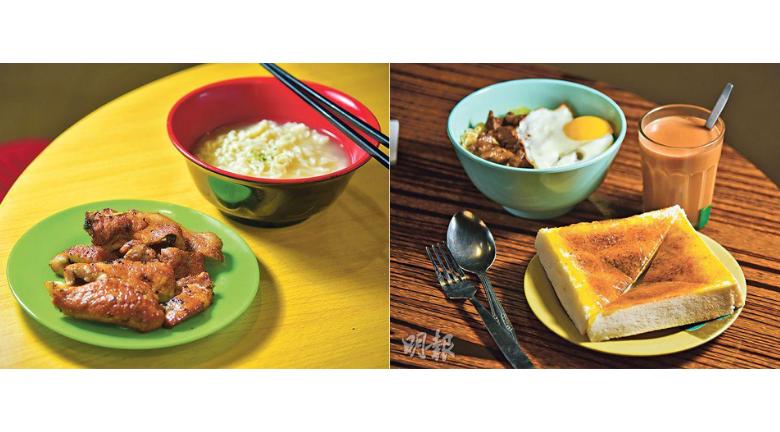 【海防道熟食市場返嚟啦!】必吃秘製豬扒、沙嗲牛麵、瓦煲奶茶、海南雞飯 翻新後加裝風扇變乾淨