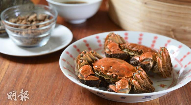 食大閘蟹4注意 營養師提醒:大閘蟹忌與柿子濃茶同食