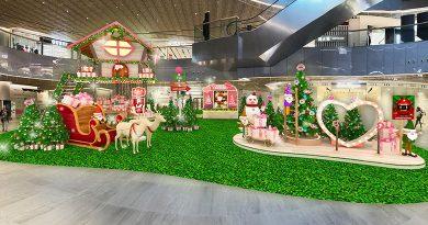 東薈城名店倉聖誕親親 暖暖全城 6米高聖誕樹屋 四大森林系打卡秘點