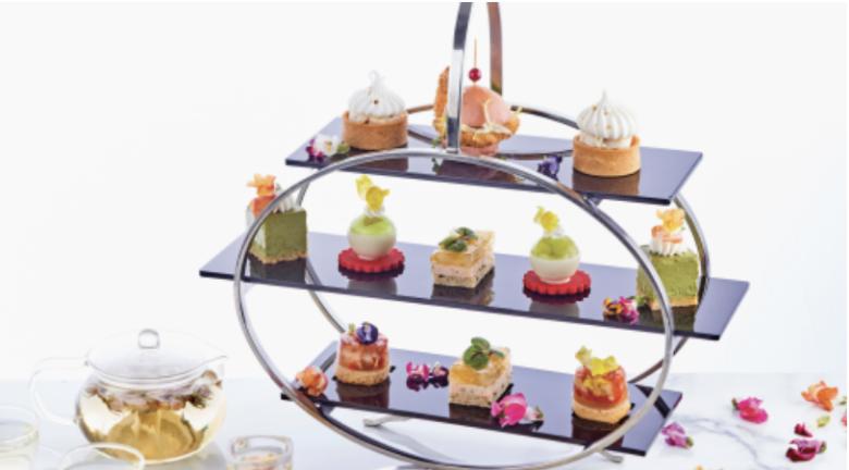 香港黃金海岸酒店海岸扒房 「味遊花境」下午茶 進入夢幻花花世界
