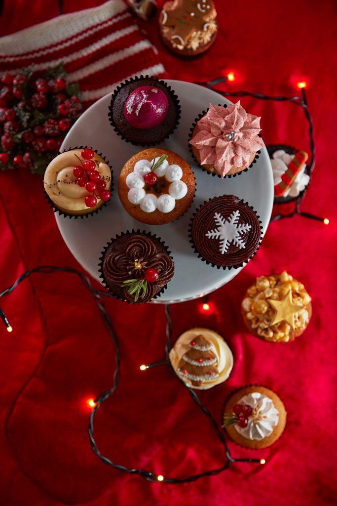無麩質聖誕甜點|THE CAKERY 全新有機純素下午茶:曲奇、樹頭蛋糕、馬卡龍、Cup Cake