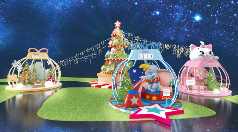 迪士尼「聖誕冬日童話祭」|葵芳新都會廣場 特設期間限定店 日本直送精品
