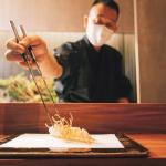 廣尾內津丨東京米芝蓮2星名店襲港 天麩羅大蝦披薄衣 蒸出鮮彈