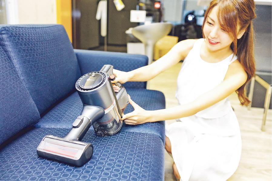 乾吸+濕拖 LG無線吸塵機 懶人恩物 新年打掃好幫手