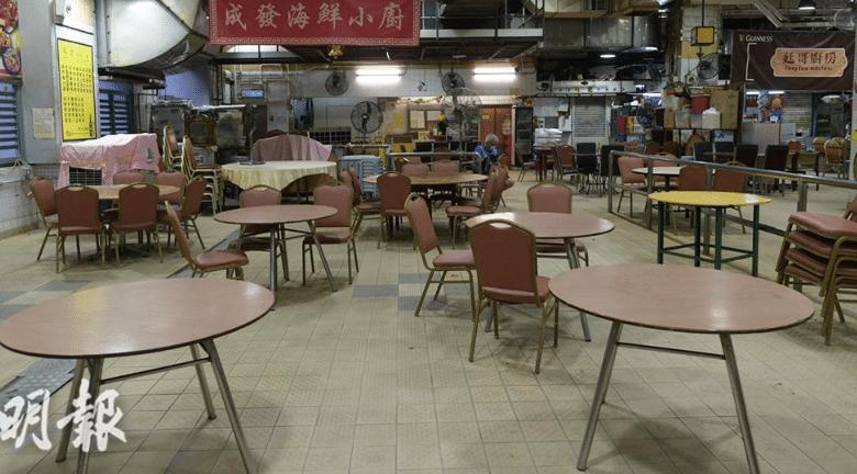 禁堂食|食肆堂食收緊至晚上6時 健身中心美容按摩院關閉 12月10日起生效