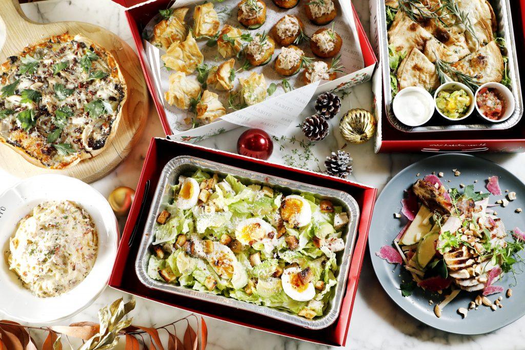 HABITŪ 聖誕派對套餐外賣到家 預訂意式精品美食 安心留家過聖誕