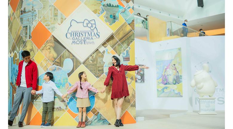 MOSTown x Sanrio characters x RMN Artwork Collection Sanrio角色融入世界名畫 感受不一樣的文藝聖誕