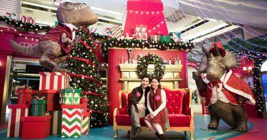 Mira Place「SANTA CLAWS」恐龍聖誕派對 日本扭蛋「戽斗恐龍」亮相