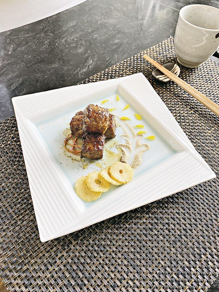 【遊走大灣區】高空享受米芝蓮三星日式料理:田舍家 INAKAYA 鐵板鮑魚鵝肝和牛大放送