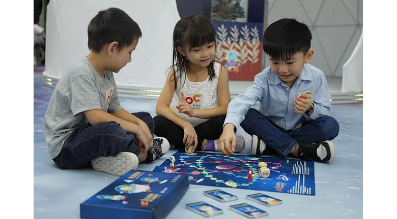 「太空歷險」 桌上親子遊戲 奧海城下月舉行