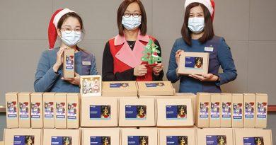 東薈城名店倉 捐贈聖誕網上工作坊材料包