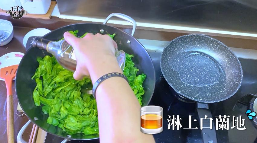 【王子煮場】金黃蟹粉扒豆苗 極級鮮美做法簡單